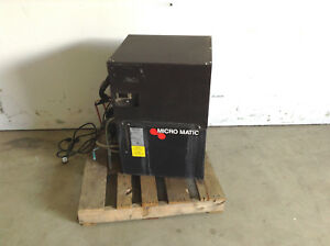 Micro Matic Powers Mmpp4303 pkg 3 Glycol Chiller 1 Phase W 3 4hp 134a Condenser
