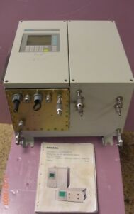 Siemens Oxymat 6f Analyzer For Ir Absorbing Gasses And For Oxygen 7mb2011 ica0