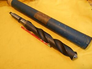 New 4 Morse Taper Shank 1 9 16 X 15 5 8 Drill Bit Thru Coolant Oil Hole Drill