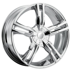 4 new 15 Inch Pacer 786c Ideal 15x7 4x100 4x114 3 42mm Chrome Wheels Rims