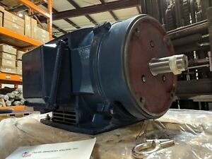 15 Hp 3 Phase Electric Motor 1765 Rpm 254tc Odp Cast Iron 208 230 460