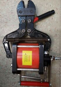 Hk Porter Pneumatic Bolt Wire Cutters Model 9230 Used Free Shipping