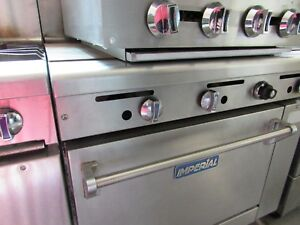 Imperial Flat Top Grill oven