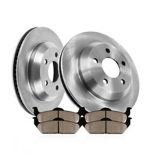 Rear Rotors Ceramic Pads For Chevy Impala Monte Carlo Ls Lt Ltz Ss Lacrosse V8