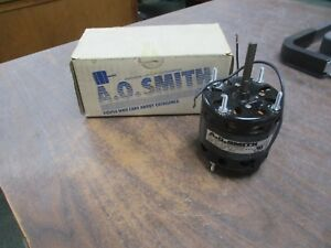 A o Smith Ac Motor A0189 1 20hp 1500rpm 230v 0 8a 60hz 1ph New Surplus
