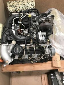 New Vw Audi 3 0 V6 Tdi Turbo Diesel Bmk Bkn Bun Complete Engine 224hp