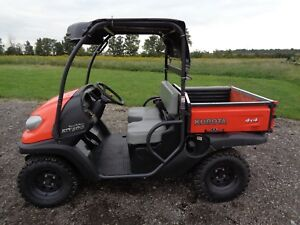 Kubota Rtv500 1 Owner 4wd 167 Hours Vht Plus Transmission