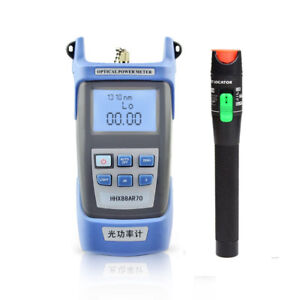 Sc Fc Fiber Optical Power Meter 30mw Visual Fault Locator 20 30km Cable Tester