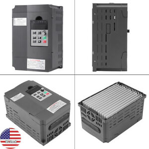 Vfd Inverter 220v 2 2kw Variable Frequency Drive 3 phase Inverter Speed Control