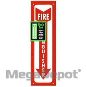 Garvey 098063 Sign 4 X 13 Fire Extinguisher G i d