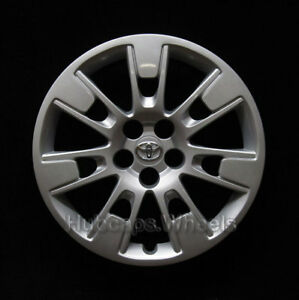 Hubcap For Toyota Corolla 2014 2016 Genuine Oem Factory 16 Wheel Cover 61173
