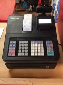 Pre owned sharp Xe a207 Cash Register Tested Works Free Shipping