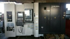 Okuma Mb 4000h Cnc 4 axis Horizontal Machining Center