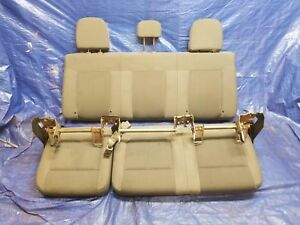 Steel Grey Gray Cloth Rear Seat Complete Ford Pickup F150 11 12 13 14