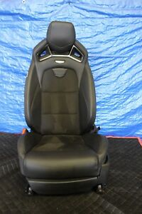 2017 Cadillac Cts V Sedan 6 2l Lt4 Oem Factory Lh Driver Front Seat 1132
