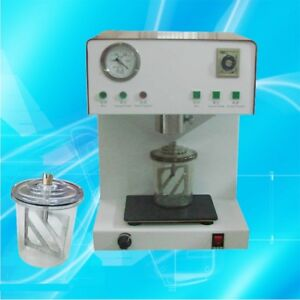 Build in Vibrator Dental Vacuum Mixer Mixing Vibrating High Vacuum Power For Lab