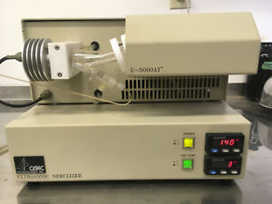 Cetac U 5000atplus Ultrasonic Nebulizer With Many Spare Parts