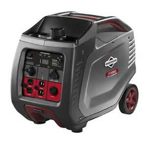 Briggs Stratton 30545 Powersmart Portable 3000 watt Inverter Generator used