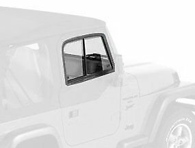 Bestop Upper Door Sliders 97 06 Jeep Wrangler Tj Unlimited Lj Black Diamond