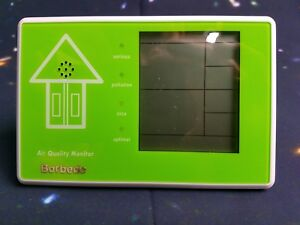 Borbede Indoor Air Quality Monitor Testing Pm2 5 Pm10 Formaldehyde Tvoc Temp Hum