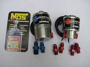 Nos nx zex holley Sniper Cheater Nitrous fuel Solenoid Kit As Shown 250hp New
