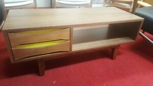 Mid Century Coffee Table Or Tv Stand Mid Century Modern Repro New 40 X 16