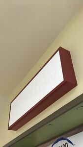 Commercial Lighted Metal Box Sign