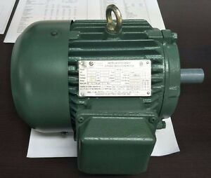 7 5hp 3ph Electric Motor 213t 1800rpm Premium Efficient Severe Duty Csa Approved