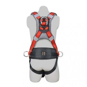 Aoneky Construction Fall Protection Safety Harness With Body Belt