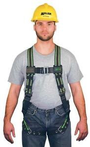 Miller Duraflex Stretchable Full Body Safety Harness With Leg Tongue