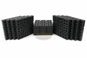 12 All Rubber Anti Vibration Pads Isolation Dampen Industrial Heavy Duty 6x6x3 4