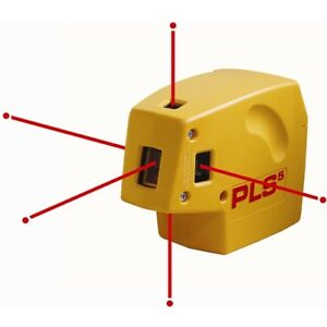 Pacific Laser Systems Pls5 new Self leveling Laser Plumb Level And Square Kit