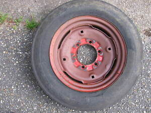 Farmall Super A A C 100 140 Wheel And Tire Size 5x15 6 Lugs Center Hub 4 5 8