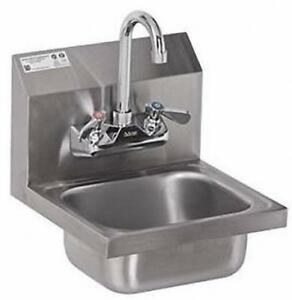 Stainless Steel Hand Sink Nsf Commercial Equipment 12 X