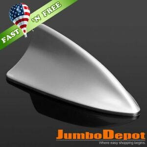 Us Silver Gray Shark Fin Roof Mount Dummy Aerial Antenna Decor For Nissan Altima