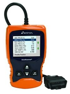 Actron Autoscanner Trilingual Obd Ii And Can Scan Tool With Color Screen