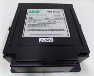 Asco 7000 Ser 200a 240v 1ph 50 60hz Automatic Transfer Switch D07atsa20200f5xm