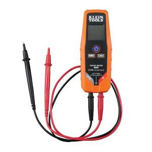 Digital Voltage Continuity Tester Ac dc Measure Multi Meter Test Lead Flashlight
