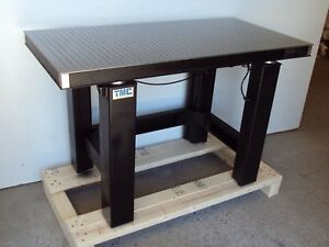 Tested Crated Newport 2 x4 Optical Table Tmc Micro g Isolation Bench Breadboard