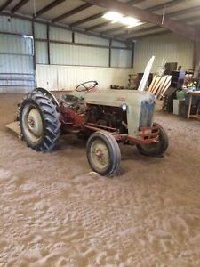 1953 Ford Golden Jubilee With Brush Hog