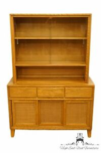 Conant Ball Mid Century Modern Maple 44 China Cabinet