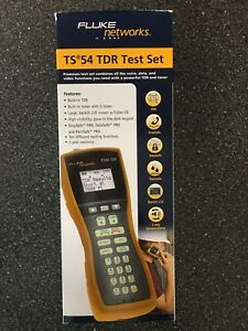 New Fluke Networks Ts54tdr Telephone Test Set Tdr Toner Ts54 a 09 tdr