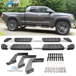 Fit 07 19 Toyota Tundra Double Cab Oe Factory Side Step Nerf Bar Running Board