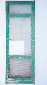Vintage Wooden Screen Door 33 X 93 Local Pickup Exterior Screen Door Xl