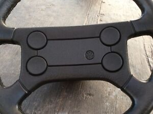 Volkswagen Steering Wheel For Mk1 Mk2 Vw Scirocco Rabbit Gti 16v Oem Leather