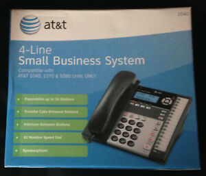 At t 1040 4 Line Small Business System Lot Of 3 Compatible 1040 1070 1080 Phone