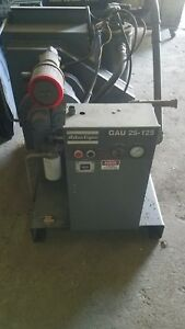 Used Atlas Copco 25 Hp Rotary Screw Air Compressor 230 460 Volt