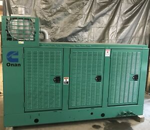125 Kw Cummins Generator Natural Gas Gta8 3 12 Lead Reconnectable 1 3 Phase