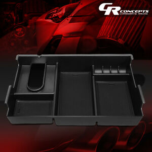 Armrest Center Console Organizer Storage Box Replacement For 07 19 Toyota Tundra