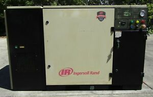 Ingersoll Rand 30 Hp Rotary Screw Air Compressor Up6 30 125